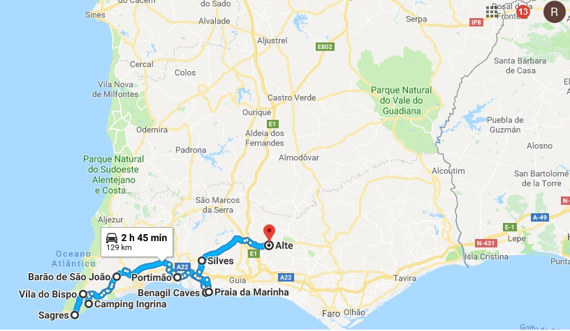 Algarve Road Trip
